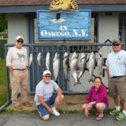 Lake Ontario Fishing Charters Oswego NY