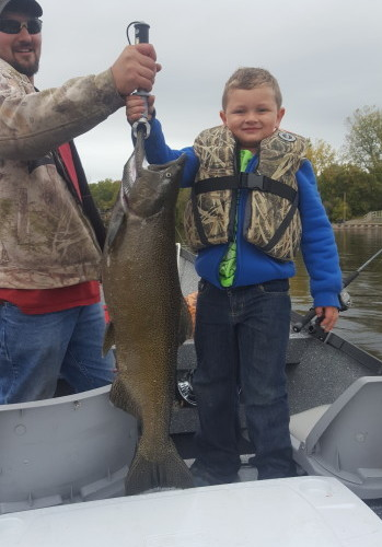 Lake Ontario Tributaries Drift Boat Charters - Salmon River, Oswego River